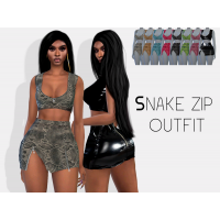 Snake Zip Outfit