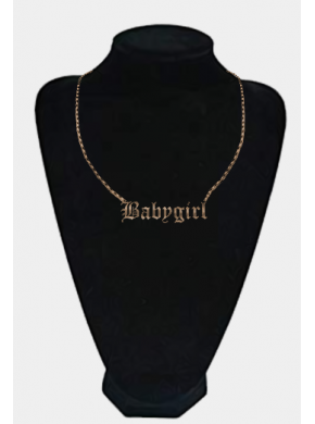 Babygirl Necklace