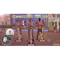 Bike Work-Out Pose pack