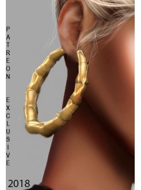 Saz Earrings