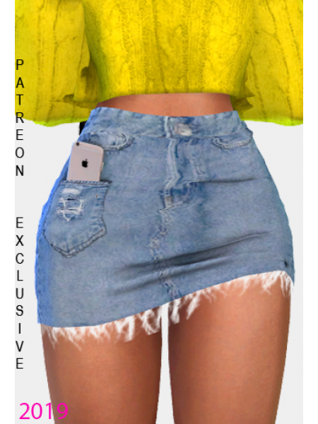 iPhone Pocket Skirt