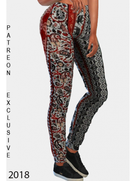 Bohemian Style Trouser