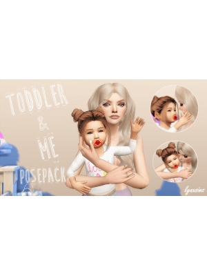 Toddler & Me posepack